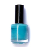 Small bottle with nail polish Stock Photo