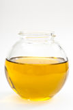 Small bottle of olive oil Stock Photo