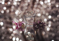 Small bottle of perfume Royalty Free Stock Photography