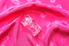 Small bottle of perfume Royalty Free Stock Image