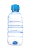 Small bottle of water isolated Stock Photos