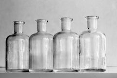 Small Bottles Royalty Free Stock Images