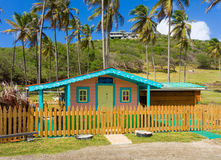A small boutique on the windward side of bequia Stock Images