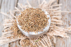 Small bowl with Aniseed Royalty Free Stock Photo