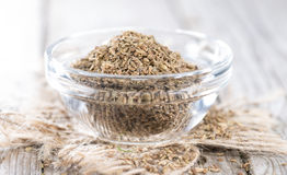 Small bowl with Aniseed Stock Photo