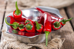 Free Small Bowl With Red Chillies Stock Images - 41120444