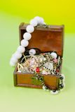 Small box with treasures Stock Photography