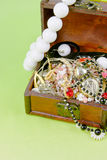 Small box with treasures Stock Photos