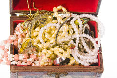 Small box with valuables Royalty Free Stock Image