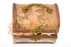 Small box with valuables Stock Photography