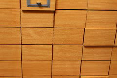 Small boxes Royalty Free Stock Photography