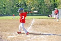 Small boy batting. Stock Photography