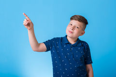 Small boy. With different emotions Stock Photo
