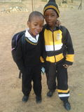 Small boys Stock Photo