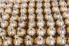 Small brass bell Stock Photo