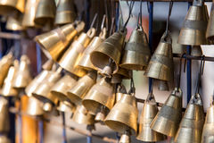 Small brass bells Royalty Free Stock Photography