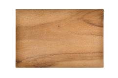 Small breakfast boards from wood. One Small breakfast boards from wood Royalty Free Stock Photography