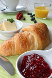 Small breakfast Stock Photography