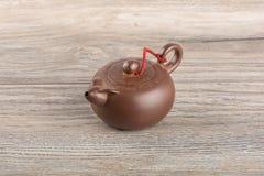 Small brewing teapot Stock Photos