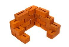 Small bricks for construction Stock Photos