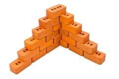 Small bricks for construction Stock Image