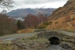 Small bridge Royalty Free Stock Photography