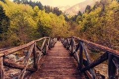 Small bridge Stock Photography