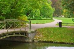 Small bridge canal Royalty Free Stock Photo