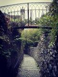 Small medievil bridge royalty free stock image