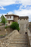 Small Bridge in Mostar Royalty Free Stock Photography