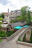 Small Bridge in Mostar Stock Images