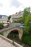 Small Bridge in Mostar Royalty Free Stock Images
