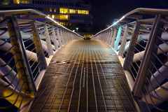 Small Bridge in Olympic Village Stock Photos