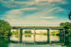 Small bridge Stock Images