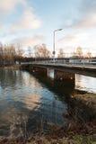 Small bridge Royalty Free Stock Photo