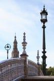 Small Bridge In Sevilla Stock Image
