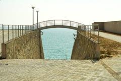 Small bridge. Royalty Free Stock Photography