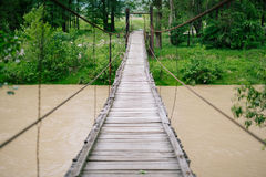 Small bridge Royalty Free Stock Photos