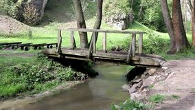 Small bridge stock footage