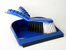 Small broom and dustpan Stock Photography
