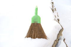 Small broom Royalty Free Stock Image