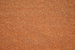 Small brown gravels Stock Images