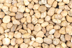Small brown natural garden rock pebbles background Royalty Free Stock Photography