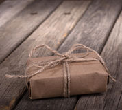 Small Brown Package Royalty Free Stock Images