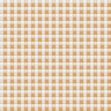 Small brown patterned fabric Stock Images