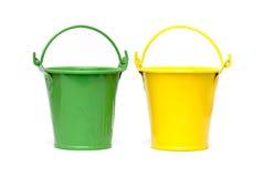 Free Small Buckets Royalty Free Stock Image - 62419616