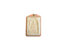 Small Buddha image used as amulet Royalty Free Stock Photos