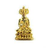 Small buddha image used as amulets on white background Royalty Free Stock Photography
