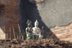 Small Buddha statue Stock Photo