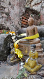 Small Buddha statue and buddhism sculpture Stock Photography